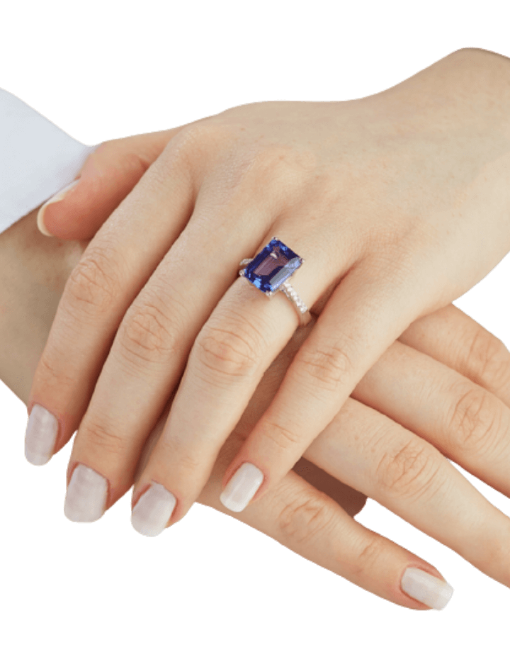 Make your own sapphire ring